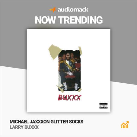 NOW TRENDING: Michael Jaxxxon Glitter Socks