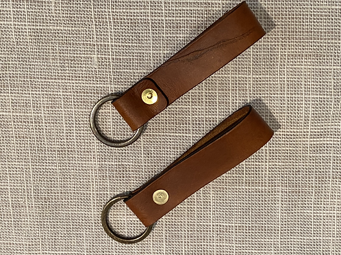 Strap Leather Keychain