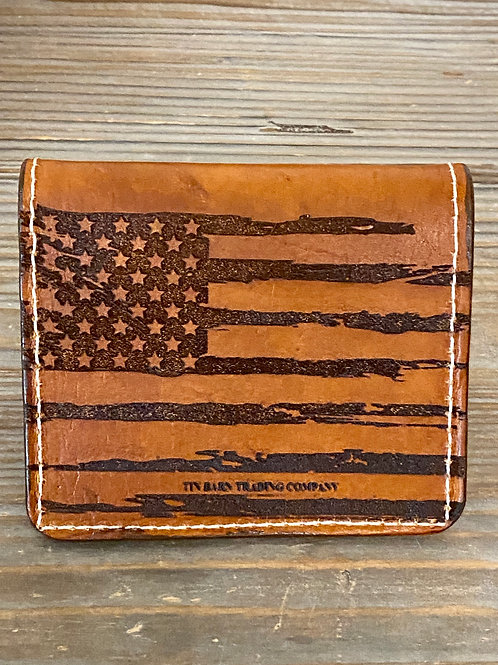 Patriot Bi-Fold Wallet (Flag)