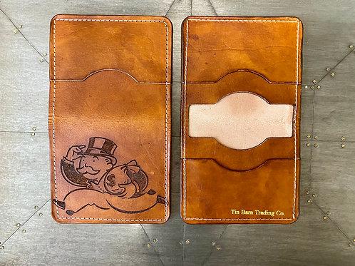 Monopoly Man Bi-Fold Wallet (Runnin'with the Cash)