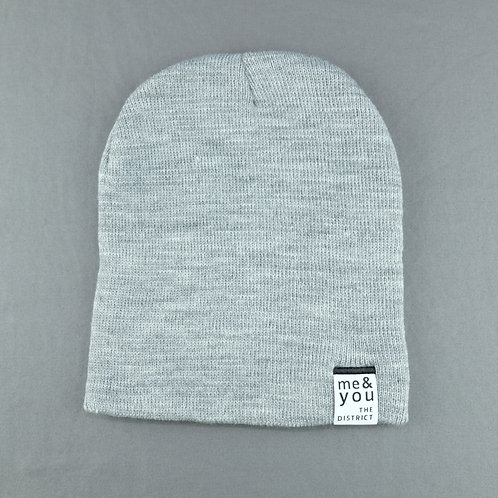 Gray Me & You Beanie (Tag)
