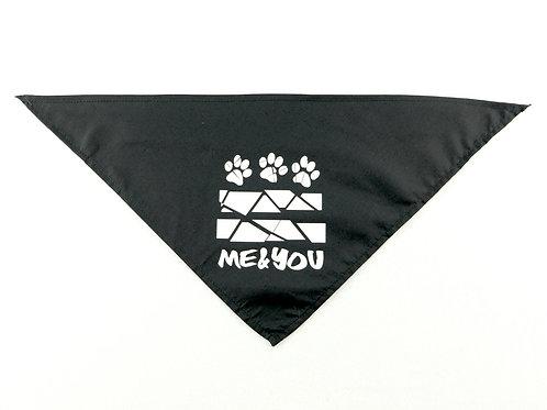 Me & You Dog Paw Bandana