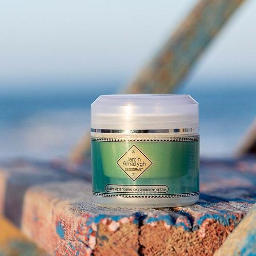 Déodorant crème à l'Huile Essentiel de Romarin-Menthe