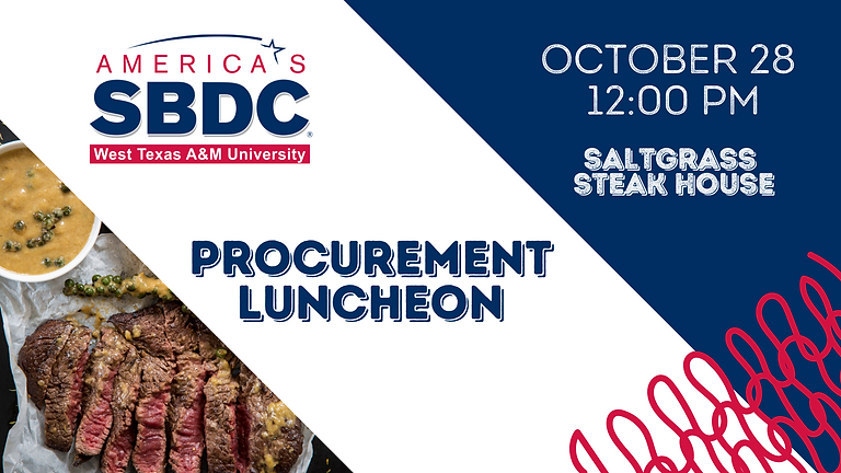 Small Business Procurement Luncheon