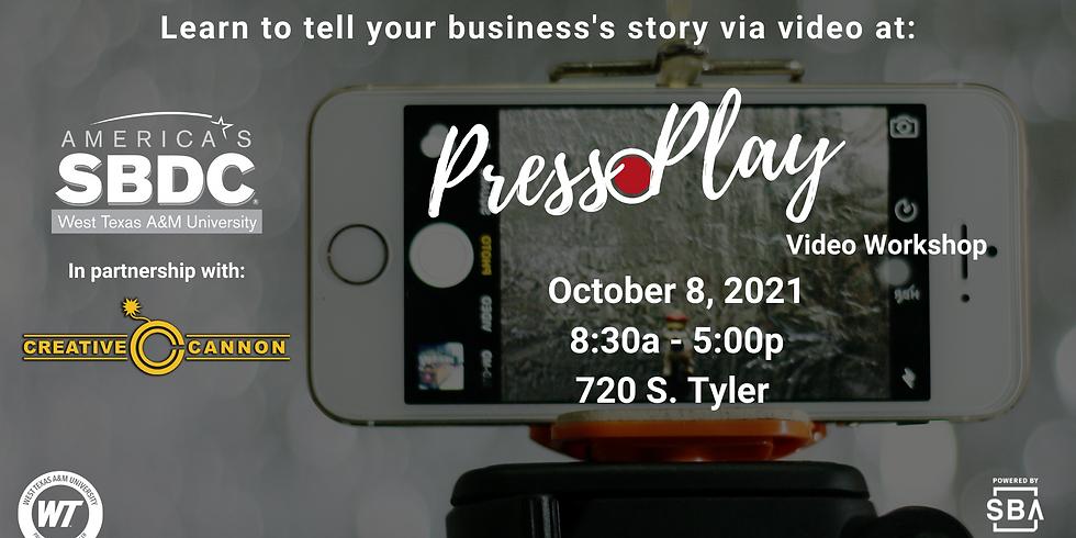 Press Play: Video Workshop