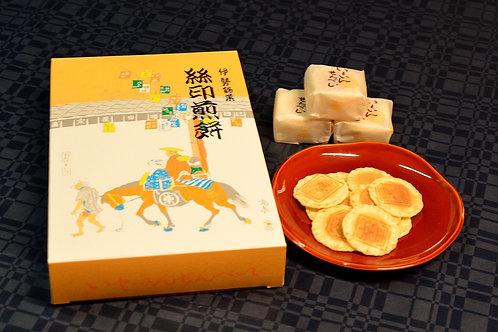 【播田屋】絲印煎餅15包