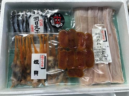 【辻物産】晩酌セット(海産物詰め合わせ)【冷凍】