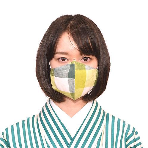 【きものサロンいけべ】伊勢マスク片貝木綿