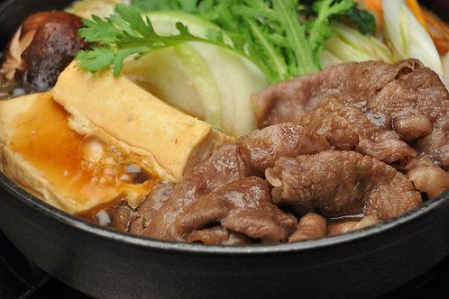【まるよし】松阪牛すき焼き肉(ロース・肩ロース 400g)【冷蔵】