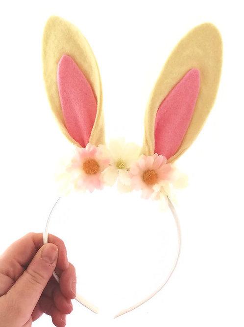 Cream Rabbit Ears