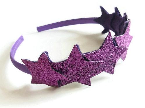 Purple Star Headband