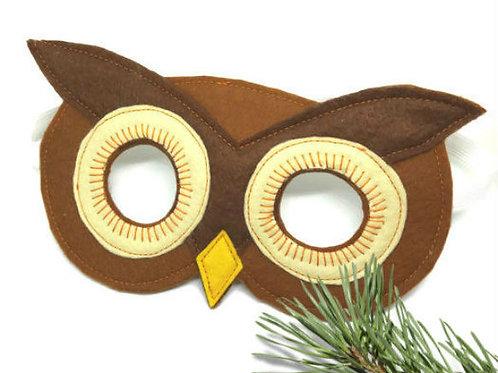 OM01 Owl Mask x 3