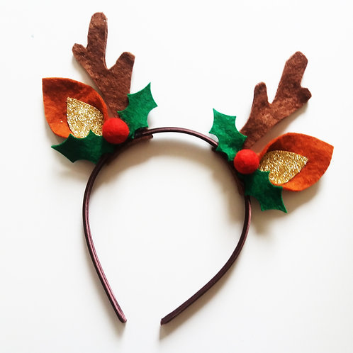 RH03 Reindeer Headband x 3