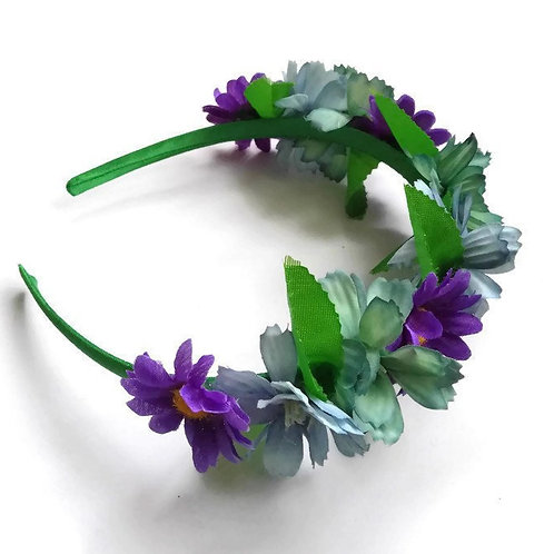 FH02 Purple Flower Crown x 3