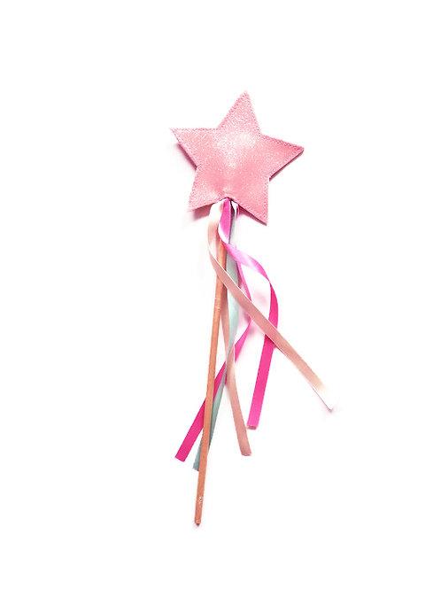 GW04 Pink Glitter Wand x 3