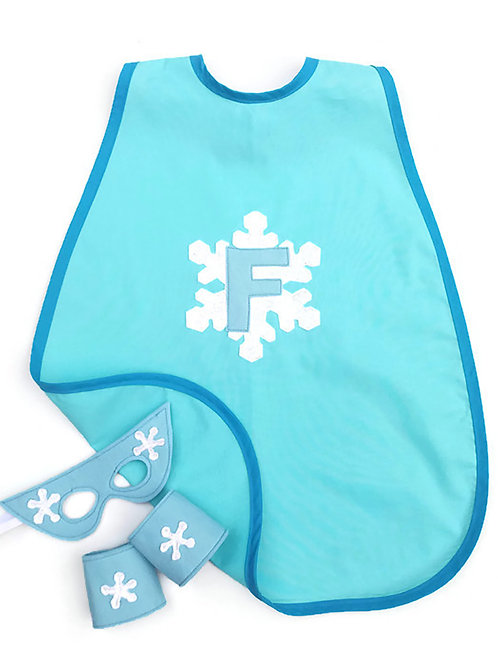 Personalised Snowflake Cape