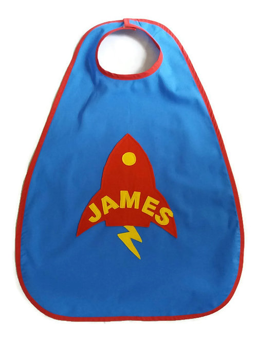 Personalised Rocket Cape