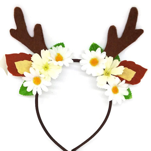 Deer Antler Headband