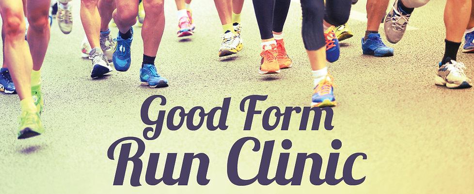 Good Form Run Clinic