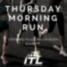 Thursday Morning Group Runs in Brookhaven with ITL