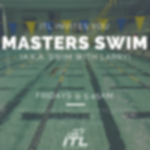 ITL Masters Swim at Emory with Coach Larry Blomberg