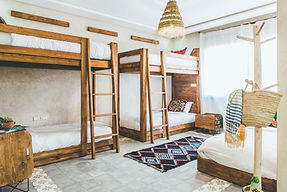 bunk beds morocco retreat 2020
