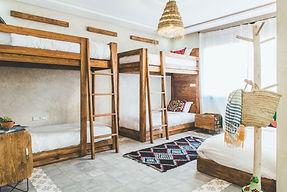bunk beds morocco retreat 2020