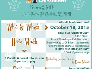 Two Chess Events in October