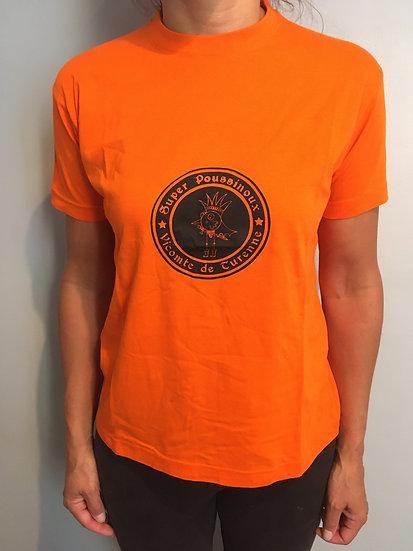 Super Poussinoux Vicomte de Turenne - T-shirt - Label rond
