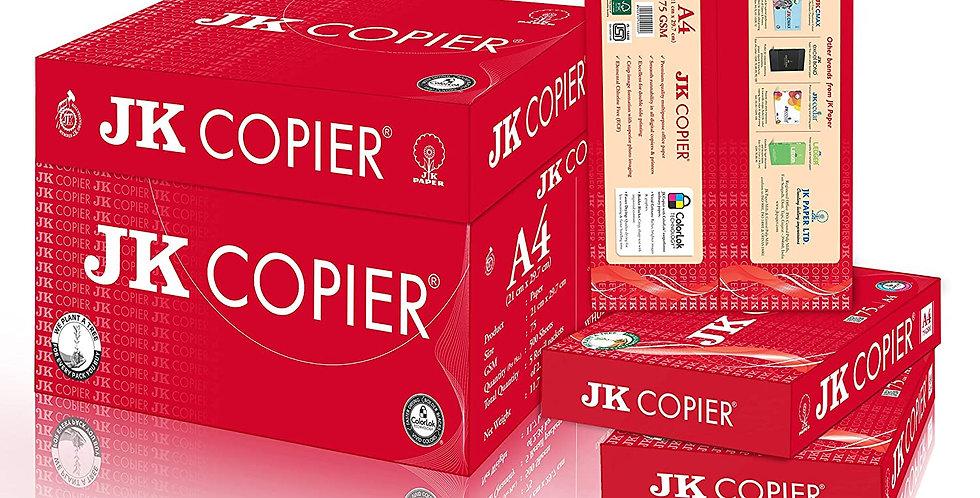 JK Copier Paper - A4, 500 Sheets, 75 GSM, Ream