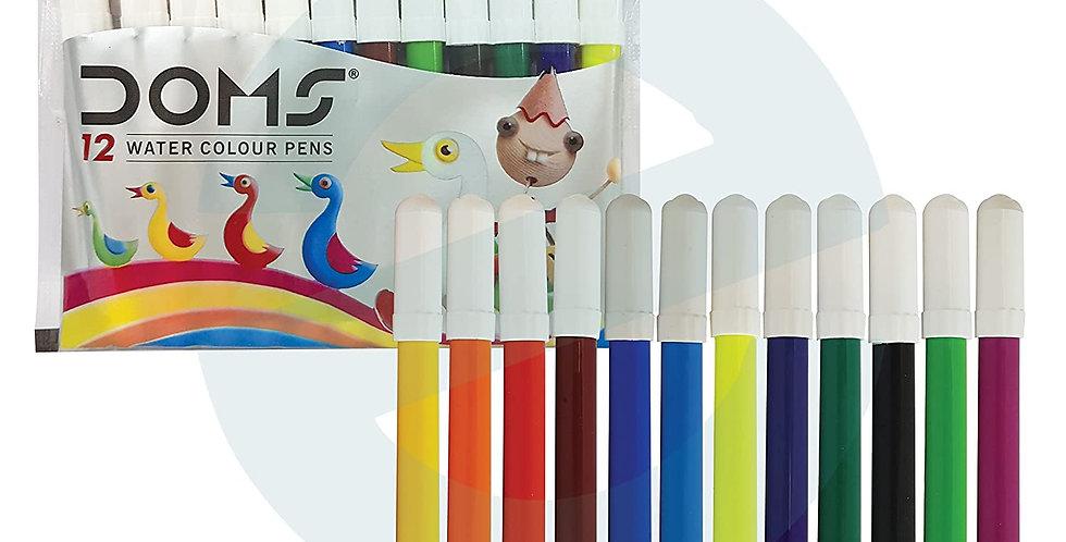 Doms Sketch Pen Mini - 12 colour, Pack of 10