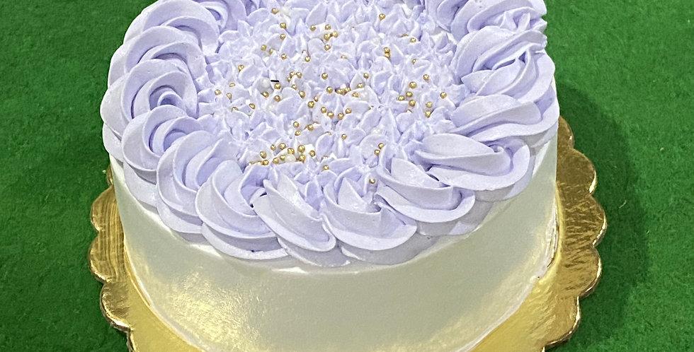 Choco vanilla cake (Eggless),  Fresh baked cake in 4 hours