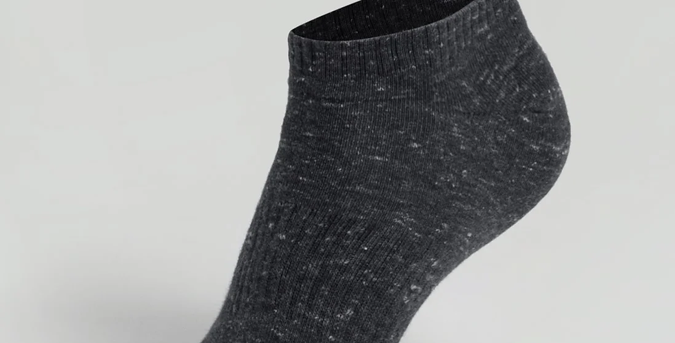 JOCKEY BLACK MENS LOW SHOW SOCKS