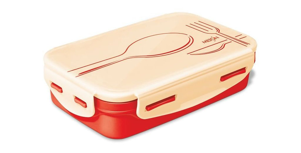 Milton Steely Insulated Stainless Steel School Lunch Box Small 525ml,