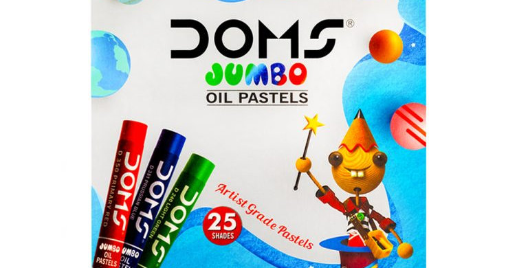 DOMS Jumbo Oil Pastels 25 Shades