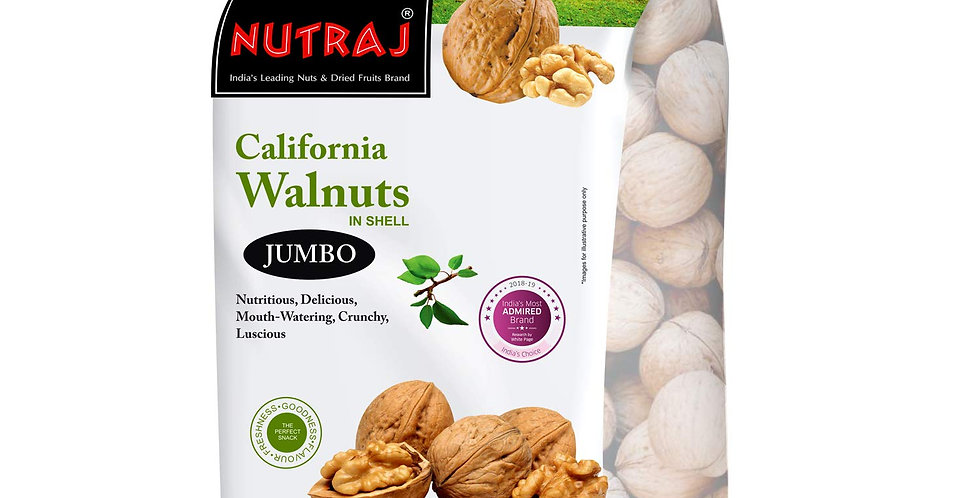 Nutraj California Walnut Kernels- 500Gram