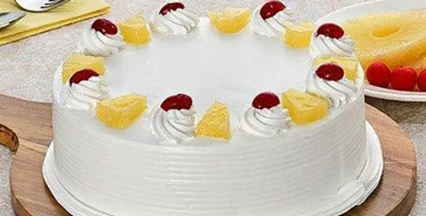 Pineapple Cake( Eggless), Fresh Baked Cake in 3 hours ( Free Delivery *)