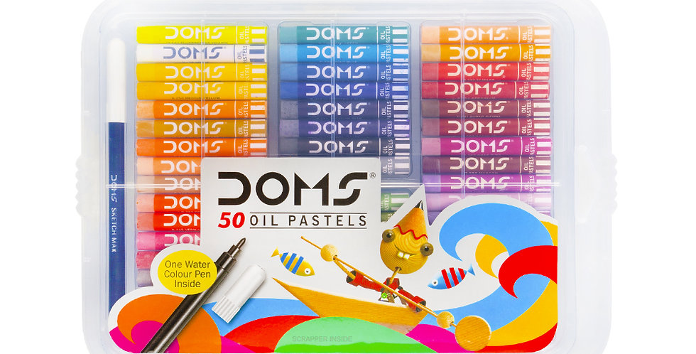 DOMS Oil Pastels 50 Shades