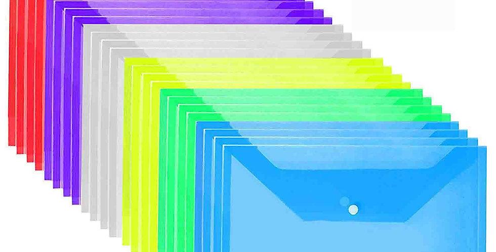 Transperant folder- Pack of 10