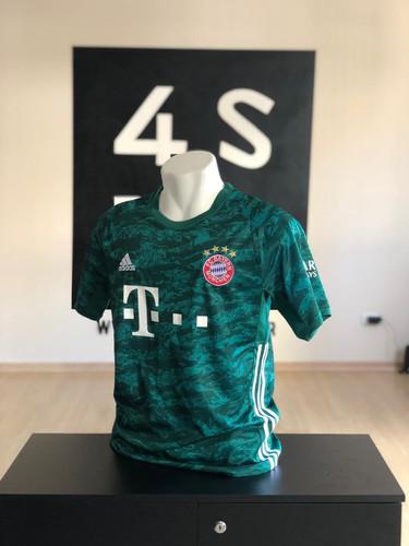 ae737de284 Conjunto Bayern Munique II 2019/20 calçao gratis