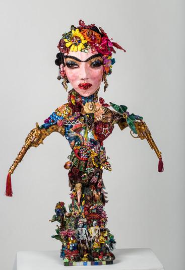 Frida face à la révolution ! 65 x 97 cm