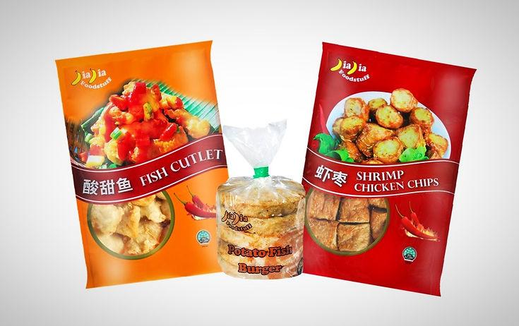 Fish Cutlet, Potato Fish Burger, Shrimp Chicken Chips