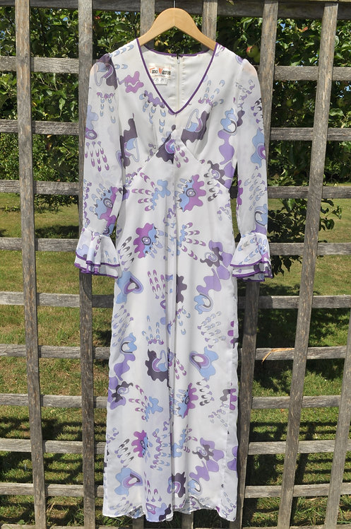 The Anemone - Late 60s Maxi Dress