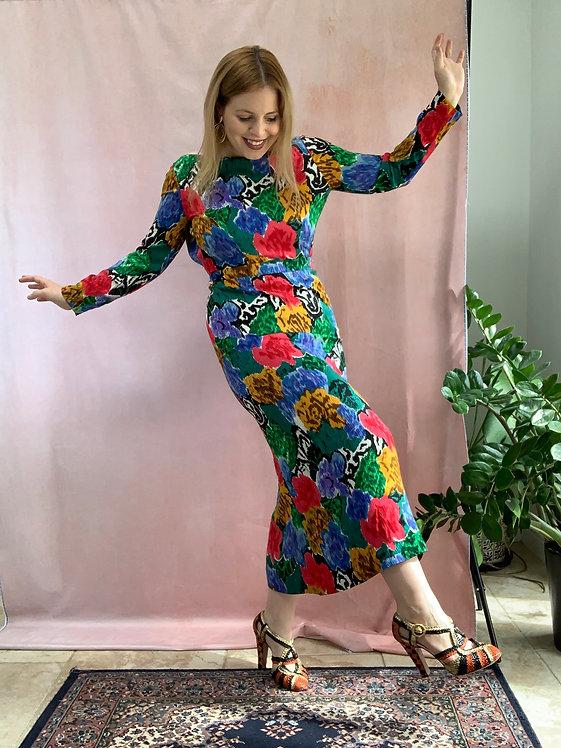 Archive 03 - 1980s Silk Midaxi Dress