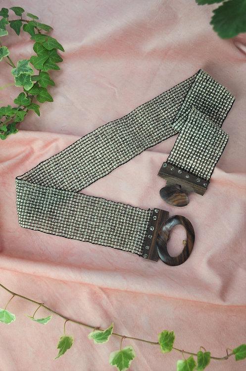 1960's Beaded Belt