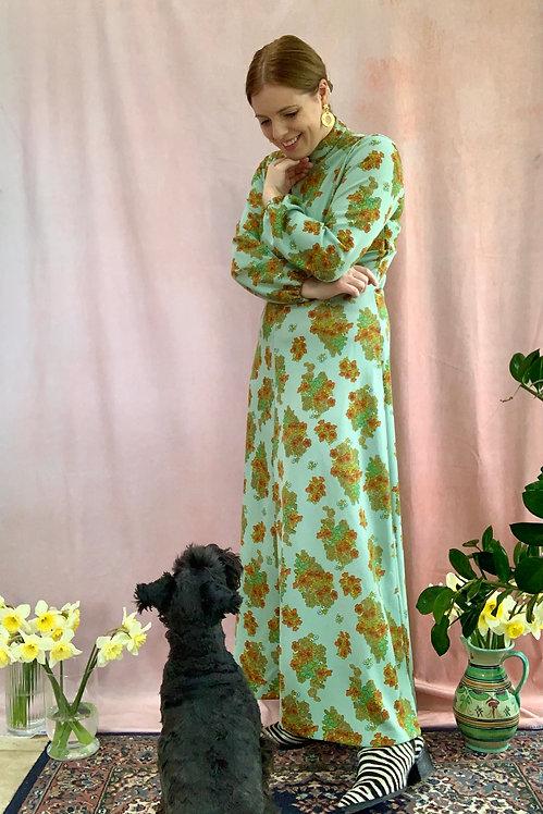 Araminta - Vintage 1970s Maxi Dress