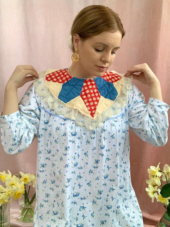 Fleur - Vintage Cotton Nightgown