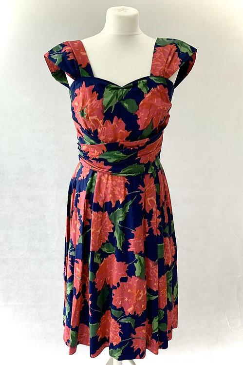 1950's Cresta Couture Dress