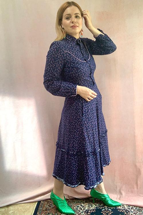 Jessie - 1970s Prairie Style Dress