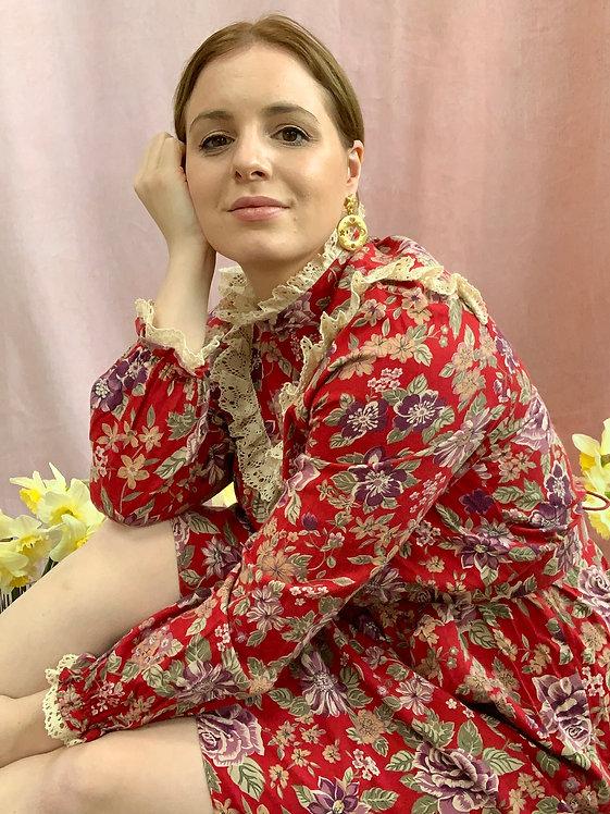 Agnes - Vintage 1970's St Michael Midi Dress